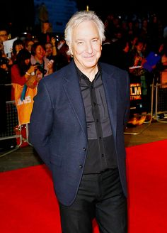 "Alan at the premiere of ""A Little Chaos"" in London."
