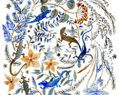 Blue Lizards- Vikki Chu