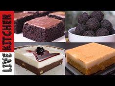 Φτιάξτε αυτά τα πεντανόστιμα γλυκάκια και θα ενθουσιαστείτε από το αποτέλεσμα! - 4 Νηστίσιμες συνταγές για όλες τις περιόδους της νηστείας! Greek Recipes, Kitchen Living, Cheesecake, Sweets, Vegan, Cooking, Desserts, Food, Youtube