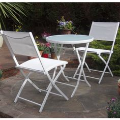 Calvia-White-Bistro-Set-Folding-Table-and-2-Chairs-Summer-Sale