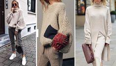 7 κομμάτια-κλειδιά που πρέπει να αγοράσεις φέτος στις εκπτώσεις Sweaters, Dresses, Fashion, Vestidos, Moda, Fashion Styles, Sweater, Dress, Fashion Illustrations