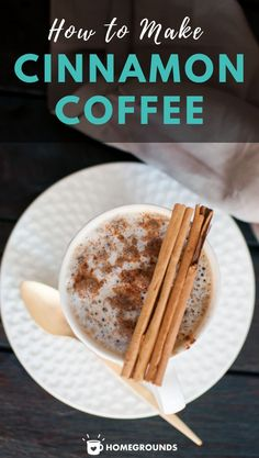 Cinnamon is a SIMPLE TO USE spice in your coffee, that also enhances your coffee brewing experience. Something that tastes amazing and is good for you? What nirvana is this? Read on to find out! Healthy Coffee Drinks, Blended Coffee Drinks, Coffee Drink Recipes, Coffee Club, Coffee Coffee, Coffee Lovers, Coffee Break, Morning Coffee, Cinnamon Coffee