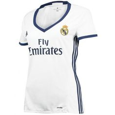Real Madrid Home Shirt 2016 17 Womens Sports Online Shopping Real Madrid Shop, Adidas, Fathers Day Sale, Sport Online, Country Sweatshirts, Football Shirts, Soccer Jerseys, Sweater Fashion, Team Shirts