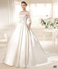 Perfect Wedding Dresses wedding dresses wedding glamour featured fashion Timeless; elegant