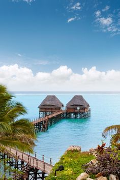 The Residence Zanzibar's Jetty Restaurant and Bar is popular among all guests. Book in advance for a romantic meal. #Jetsetter
