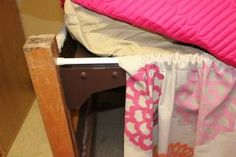 Rod for dust ruffle: Martin Hall – Ole Miss beds Anybody can develop a residence sweet property, even when the budget is tight. Ole Miss, Dorm Bed Skirts, College Necessities, Dorm Hacks, Dorm Life, College Life, Dorm Room Designs, College Dorm Decorations, College Dorm Rooms