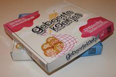 Kadoverpakking Geboortekoekjes voor jongens en meisjes! Maar liefst 20 koekjes in elke verpakking voor maar 8,95€ inclusief verzendkosten!