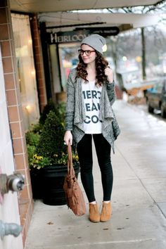 Hipster Street Style.