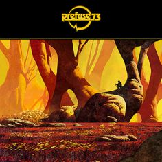 """Prefuse 73: The Forest of Oversensitivity EP Warp Records 2009 Formats: 12"""", CD  Design and artwork: Dan McPharlin  Larger."""