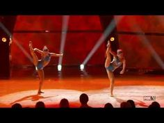 Audrey & Tiffany - Contemporary season opening routine choreo by Sonya (SYTYCD S09): Audrey not getting futher was a total mistake and Tiffany getting so far as she did was not cool. Pretty damn evident here; if Audrey wasn't such a strong dancer she would have gotten dropped by Tiffany multiple times.