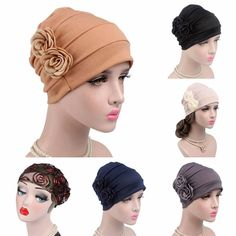 Honey Muslim Hijab Turban Arabic Head Scarf Flower Women Chemo Cap Cotton Bandana High Standard In Quality And Hygiene Novelty & Special Use Islamic Clothing