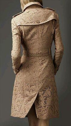 MA. Burberry coat