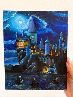 Game of thrones hogwarts painting, hogwarts castle wallpapers, harry potter hogwarts, hogwarts oc Harry Potter Kunst, Harry Potter Canvas, Harry Potter Castle, Harry Potter Painting, Harry Potter Drawings, Harry Potter Hogwarts, Hogwarts Mystery, Disney Hogwarts, Eagle Painting