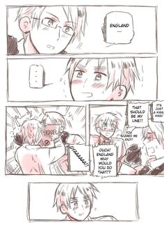 USUK comic: kiss p1 by kaguya-lamperouge.deviantart.com on @deviantART
