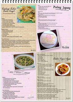 Kembung kukus bumbu Kunyit, pudding jagung. Tumis putren campur. Rissoles rogout ayam Indonesian Food, Cantaloupe, Meal Prep, Food And Drink, Menu, Fruit, Recipes, Pudding, Menu Board Design
