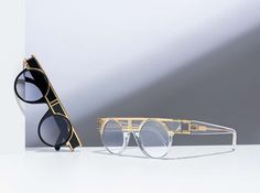 83c8a78e9191 Cazal Legends Model 002 is 24 Carat Gold Plated. Limited Edition available  at the Spectacle