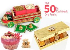Paytm Dry Fruits, Sweets 50% Cashback Offer : Buy Dry Fruits, Sweets at Best Price - Best Online Offer