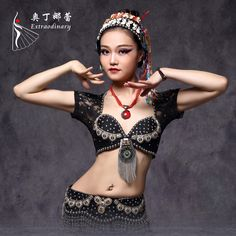 Find More Belly Dancing Information about New 2016 ATS Tribal Belly Dance Bra Tops Metallic Studs Push Up BeadsBra B/C CUP Vintage Coins Top Gypsy Dance Bra Lace,High Quality coin top,China tribal belly dance bra Suppliers, Cheap dance bra top from ChaoZhou Beaded & Embroldered Craftwork Co.,Ltd. on Aliexpress.com Belly Dance Bra, Tribal Belly Dance, Dance Oriental, Push Up Strapless Bra, Harem Girl, Dance Tops, Plus Size Bra, Tribal Fashion, Sexy Bra