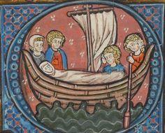 Vies de saints Dating: Hainault, Belgium 1288 Français 412 Folio 24v