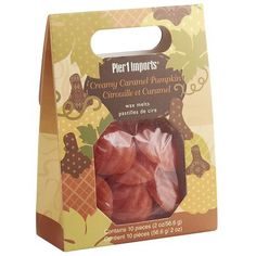 Wax Melts - Creamy Caramel Pumpkin P1