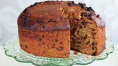 Porter Cake   spice cake with sultanas & stout beer.  Try using homemade candied orange peel