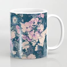 Buy Floral Nights Space Dreams Coffee Mug by Nature Magick. Worldwide shipping available at Society6.com. Just one of millions of high quality products available. Meet The Artist, Drinkware, Magick, Coffee Mugs, Dreams, Ceramics, Night, Space, Floral