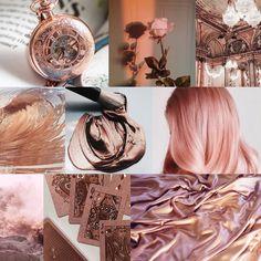 Rose gold aesthetic