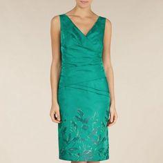 Alexon Oriental Jacquard dress- at Debenhams.com