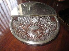 "EAPG 1899 Duncan Miller ""Scalloped six point "" 8.5"" wide Flip top Cover  Bowl"