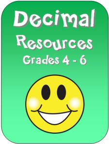 Decimal Resources in Laura Candler's File Cabinet