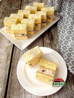 Prajitura-mozaic-cu-foi-de-pandispan-1 Best Pastry Recipe, Pastry Recipes, Cake Recipes, Dessert Recipes, Romanian Desserts, Food Cakes, Mozaic, Cereal, Sweet Treats