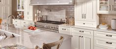 Crestwood Cabinetry by Dura Supreme has traditional, framed cabinet construction.