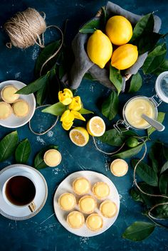 An easy recipe for lemon tartlets with lemon curd. Sweet pastry shells make the perfect container for the best lemon curd ever – it's so silky and smooth. Lemon Curd Recipe, Lemon Custard, Lemon Recipes, Pie Recipes, Cheesecake Recipes, Baking Recipes, Fruit Recipes, Vegetarian Recipes Dinner, Healthy Dessert Recipes