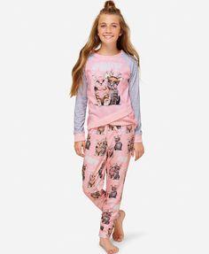 Justice NWT Pink Mermaids Have More Fun Pajama Top size ~10