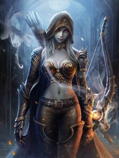 female archers fantasy - Yahoo Image Search Results