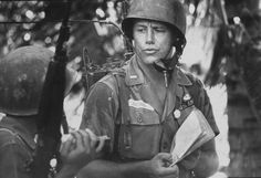 US Army lieutenant, photographed by Larry Burrows, 1964. ~ Vietnam War