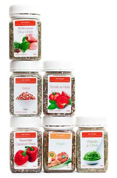 YIAH Dip Mixes....there are no preservative, no additives, not anti-caking agents, no gluten and no added msg!