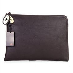 8646dbf0ed Beautiful Mulberry Clutch Bag Soft Leather Chocolate
