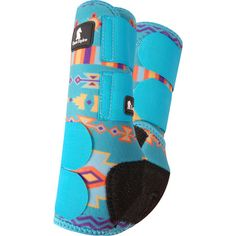 Classic Equine Legacy Teal Southwest Front Boots