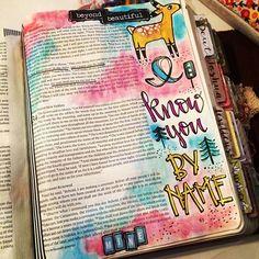 Bible Journaling by Christina Lowery @christinasalive   Exodus 33:17