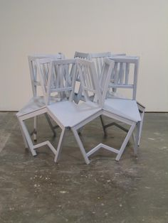 Artist Drew Daly activates and draws attention to common domestic objects by meticulously altering the item's surface quality and form. Daly is interested in Unusual Furniture, Sofa Chair, Armchair, Scenic Design, Take A Seat, Art Object, Innovation Design, Chair Design, Dining Chairs