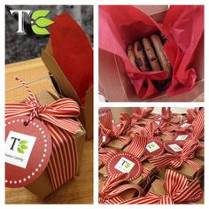 This was an order from Toronto Life Magazine, 250 of our holiday cookie boxes to give as gifts...  our cookies are soft, chocolate chunk & sea salt goodness