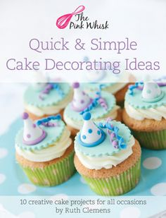 Quick Easy Cake Decorating Tips : 1000+ images about Decor ATE on Pinterest Simple cake decorating, Cakes and Cupcake