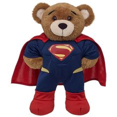 Bearemy® in Superman Costume - Build-A-Bear Workshop US $28.00