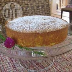 Rezeptbild: Mandel-Grießkuchen mit Orange