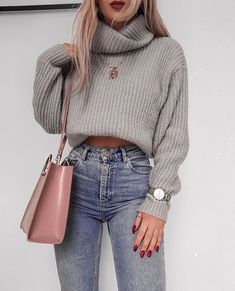 60 Trendy And Fashionable Fall Outfits You Should Try This Year - Page 18 of 60 - Chic Hostess Casual Winter Outfits for Women, Trendy outfits, Casual Outfits # .Casual Winter Outfits for Women, Winter Outfits 2019, Summer Outfits For Teens, Winter Outfits Women, Winter Fashion Outfits, Look Fashion, Fall Fashion, Autumn Outfits, Spring Outfits, Winter Outfits Tumblr