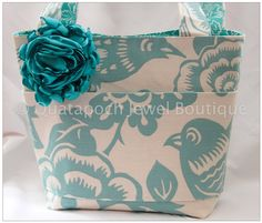RESERVED Gorgeous Boutique Tote Purse bag made by VeraMiasMama, $40.00
