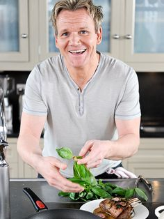 Gordon Ramsay---- not that I would call him an actor. Love all his shows though.
