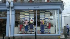 Sailor stripes window at Seasalt