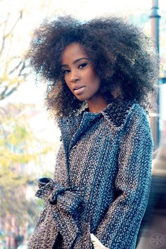 Big hair, don't care! To learn how to grow your hair longer click here - http://blackhair.cc/1jSY2ux